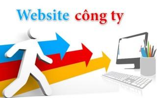 Mẫu website công ty