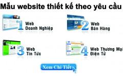 Giá thiết kế web